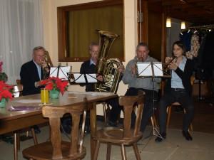 v.l.n.r. Karl Gössele, Volker Hertneck, Friedrich Gauger, Michaela Fröhlich, Bild: Uwe Sinast